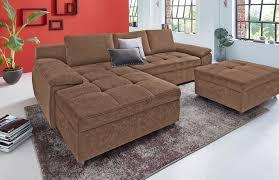 sofa schlaffunktion bettkasten ecksofa eckcouch kaufen mit ohne schlaffunktion otto