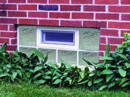 Glass Block For Basement Windows by Glass Block Leak Proof Windows Select Basement Waterproofing New