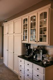 coffee bar and pantry storage kitchen design pinterest