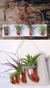 plant stand wall plant holders indoor chic hanging wall planters