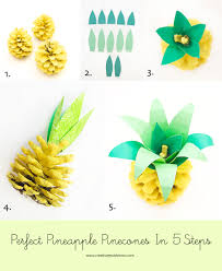 pineapple pinecone craft is my new favorite creative jewish mom