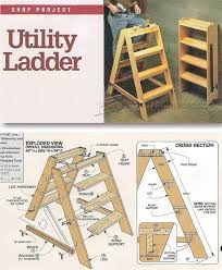 wooden step ladder plans workshop solutions projects tips and