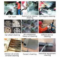 Steam Clean Car Interior Price 220v High Pressure Washer Cleaner Mobile Water Jet Cleaning Car