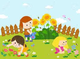 garden clipart for kids clipartxtras