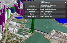 Map Miami Fl by Miami Dda Launches Interactive 3 D Skyline Map Of New Developments