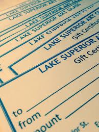 lake superior glass gift certificate