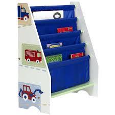 Fabric Sling Bookshelf Storage Bins Service Vehicle Storage Bins Sling Bookcase Kids