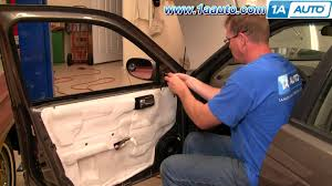 nissan sentra year 2000 model how to install replace side rear view mirror nissan sentra 00 06