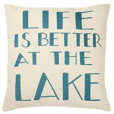 designs for every lifestyle set of 2 life is better at the lake