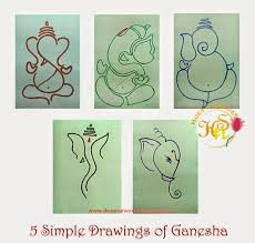 28 easy house drawing simple drawing of house hues n shades 5 simple drawings of ganesha for ganesh chaturthi