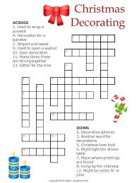 found in a fireplace crossword clue printable puzzle this one is a crossword that uses decorations