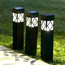 Led Light For Outdoor by Beautiful Outdoor Bollard Lighting Style U2014 Porch And Landscape Ideas
