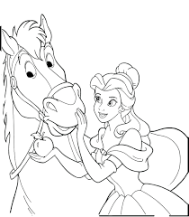 horse coloring pages for kids image horseland book baby to print