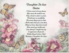 daughter in law poem ebay