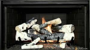 gas fireplace birch logs wpyninfo