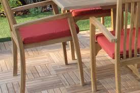 Sunbrella Rocking Chair Cushions Sale Sunbrella Fabric Hampton Chair Cushion Pad Oceanic Teak