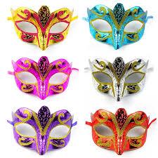 mardi gras fashion fashion eye mask gold shining plated party mask wedding props