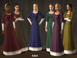 mod the sims medieval tunic dress