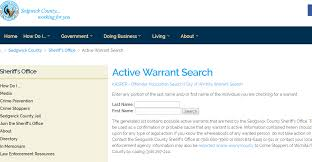 Active Bench Warrant Sedgwick County Warrant Search Check Outstanding Arrest Warrants