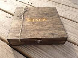 personalized wooden boxes groomsmen gift engraved cigar box monogram personalized engraved