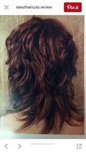 side and back views of shag hairstyle shaggy haircut back view mudbgrgtx projects to try pinterest