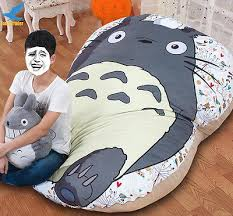 Giant Totoro Bed Huge Giant Filled Bed Carpet Tatami Mattress Sofa Bed Great Gift