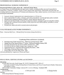 Lpn Resume Template Sle Lpn Resume One Page For My Lpn Resume