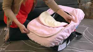 Pink Car Seat Canopy by Jj Cole Car Seat Cover Protect Your Baby From The Elements Youtube