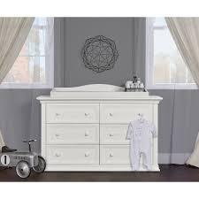 Bonavita Dresser Changing Table by Evolur Sawyer Double Dresser In Dove Grey Walmart Com