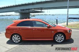 lancer mitsubishi 2012 2012 mitsubishi lancer vrx sportback review test performancedrive