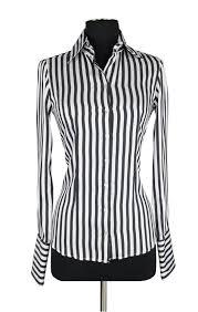 black and white striped blouse silk striped shirts domenicovacca