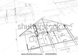 modern house blueprints house blueprint stock images royalty free images vectors