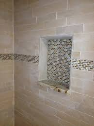 Bathroom Mosaic Tile Ideas Shower Shelf Custom Tile Work Bathroom Renovations Pinterest