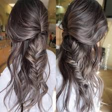 silver brown hair 25 silver hair color looks that are absolutely gorgeous