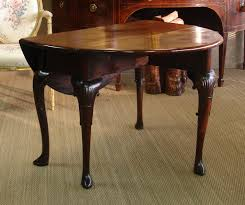 Oval Drop Leaf Table A George Ii Period Mahogany Drop Leaf Table Chappell U0026 Mccullar