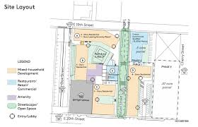 residential site plan east crossroads apartment plan praised by community association
