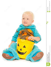 Baby Monster Halloween Costumes by Little Toddler Boy Monster Costume On Halloween Stock Photo
