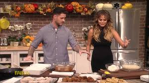 chicken and waffles with chrissy teigen and chef john seymour