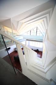 Interior Stairs Design In Duplex Apartments Unconventional Stairs Modern Atmosphere Recreated In A Duplex