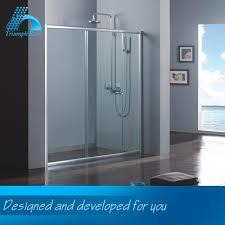 sliding shower door frame for tub sliding shower door frame for