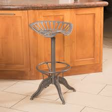 Tractor Seat Bar Stools For Sale Industrial Metal Design Adjustable Height Swivel Tractor Seat