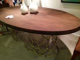 Acacia Wood Dining Room Furniture by Gentry Connects Furniture For The Wesco Fabrics Showroom