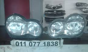 headlights for sale mercedes c class w203 facelift headlights for sale
