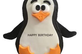 Penguin Birthday Meme - penguin birthday cake for kids with name 2happybirthday