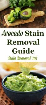 Mayonnaise Stain Removal Guide Mayonnaise Upholstery And Household Avocado Stain Removal Guide Fabrics And Household