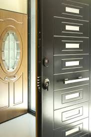 front door security in stylish home interior design ideas p55 with