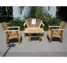 Wood Patio Furniture Sets Wood Patio Furniture Sacred Space Imports