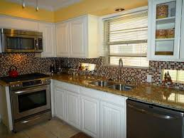 glass tile backsplash ideas for white kitchen team galatea homes