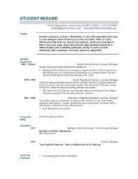 Resume Template For Graduate Graduate Resume Templates Resumes And Cvs Graduate