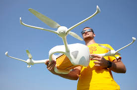 swiss post uses drones as a means of transport drones